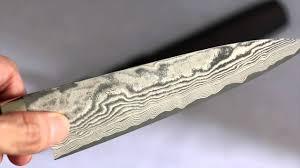 Japanese Kitchen Knives Takeshi Saji Vg10 Black Finish Damascus Petty With Micarta Handle