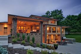outdoor living house plans contemporary house plans with walkout basement contemporary modern
