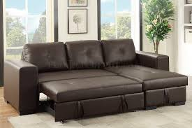 Leather Boss Chair Convertible Sectional Sofa Espresso Faux Leather By Boss