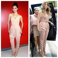 khloe jumpsuit who wore it better roselyn vs khloe in