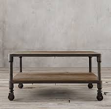 industrial square coffee table industrial square coffee table