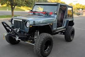 lj jeep for sale 1998 jeep wrangler tj lifted rock crawler for sale