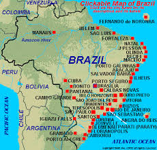 map of brazil brazil hotels map of brazil hotels links to all hotels