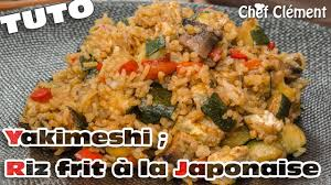 cuisiner au teppanyaki recette japonaise yakimeshi riz frit à la teppanyaki chef