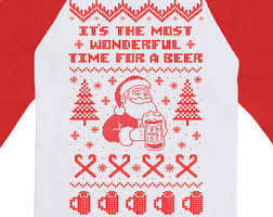 funny christmas sweater it u0027s the most wonderful time for a