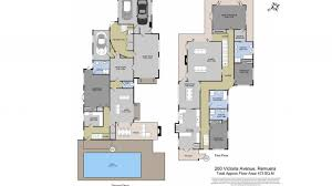 The Louvre Floor Plan by Expansive Family Options 260 Victoria Avenue Remuera Bayleys