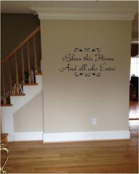 quote it bless this home and all who enter vinyl wall decals