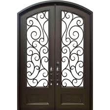 iron doors front doors the home depot