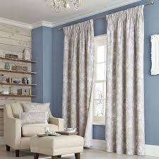 natural chateau lined pencil pleat curtain collection dunelm