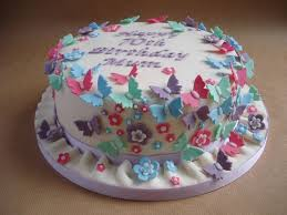 70th birthday cakes 70th birthday cake with butterflies