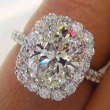 crystal diamond rings images Oval halo diamond ring 1791 diamonds jpg