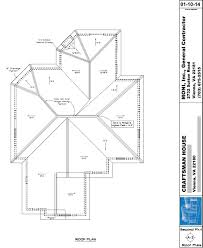 Floor Plan With Roof Plan Roof Plans 01 10 2014 2 Autocad Floor Plan On Home Plans With