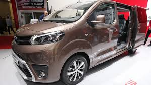 New Toyota Proace Verso Mpv Detailed Auto Moto Japan Bullet