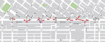 San Francisco Street Parking Map a safer market street just days away sfmta