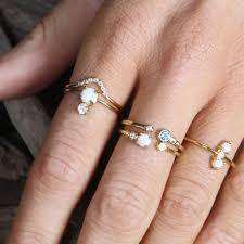 white topaz engagement ring topaz arc ring