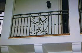 balcony railing black hawk iron
