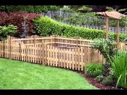 garden fencing ideas privacy fence or garden wall 112 landscape