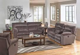 Reclining Living Room Furniture Sets Catnapper Nichols Reclining Sofa Set Granite Cn 1671 Sofa Set