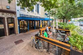 Patio Downtown Downtown Greens Up With Pocket Patios Curbed Austin
