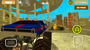 monster trucks races cartoon cars monster truck racing hero 3d android apps on google play