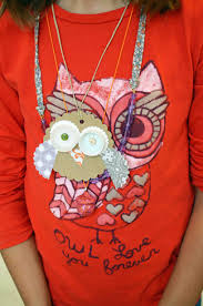 baby barn owl pendant small hands big art