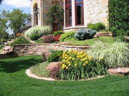 lawn u0026 garden country style home front yard exterior ideas with