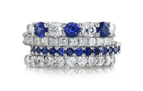 sapphire and wedding band the sapphire company sapphire rings jewelry since 1939