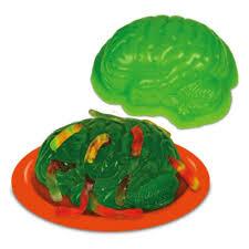 amazon com halloween brain gelatin mold with green jello worms