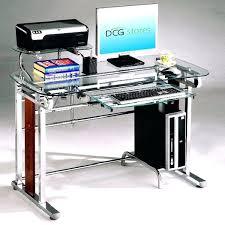 Small Computer Printer Table Desk Sturdy Mobile Computer Table Desk With Printer Shelf New
