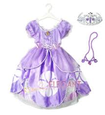 sofia the dress disney sofia the princess children girl gown party costume
