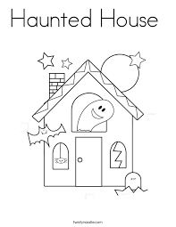 printable spooky house haunted house coloring page twisty noodle spooky house coloring