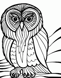 cartoon owls coloring pages for halloween coloring pages for all