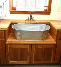 I Would LOVE This In My Home Rustic Laundry Sink And Cabinet - Kitchen sink tub