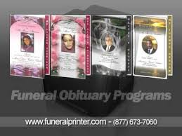 Funeral Programs Online Free Funeral Program Templates Youtube Funeral Pinterest