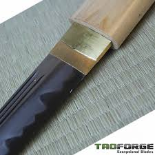 katana kitchen knife tao forge gokenin series higo munekage