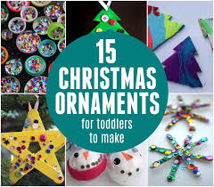 toddler approved 15 easy ornaments for toddlers