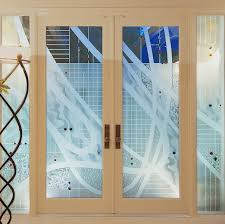 beautiful glass doors furniture epic ideas for home interior decoration using etched