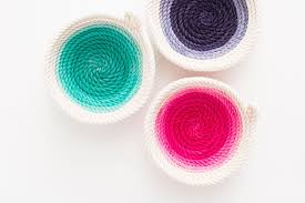 how to make beautiful no sew bowls brit co
