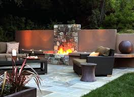Backyard Fire Pits Designs by Built In Fire Pits For Decks Brick Built Fire Pits Uk In Ground