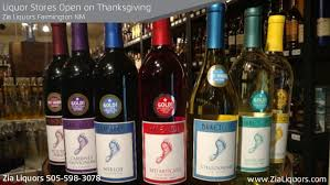 zia liquors open thanksgiving day