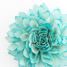 teal wedding decorations 10 teal wooden flowers wedding decorations wedding flowers