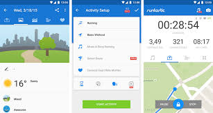 best fitness apps for android 10 best fitness apps for android wear smartwatches hongkiat