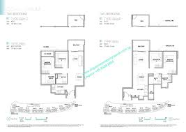 2 Bedroom Condo Floor Plans Kingsford Waterbay Upper Serangoon View Condo