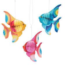 Tropical Fish Home Decor Amazon Com Fun Express 10