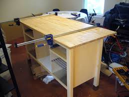 build your own kitchen island make your own kitchen island with breakfast counter ikea hackers