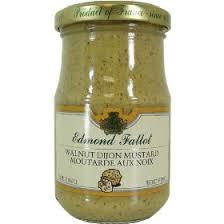 gourmet mustard fallot walnut mustard fallot mustard walnut mustard gourmet
