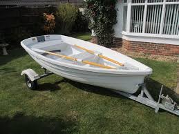 walker bay 10 tender dinghy fishing boat complete with floor oars