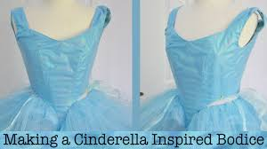 making a cinderella inspired dress part one youtube
