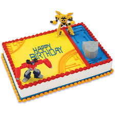 transformer decorations transformers cake toppers walmart