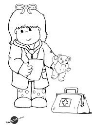doctor kids free coloring pages art coloring pages
